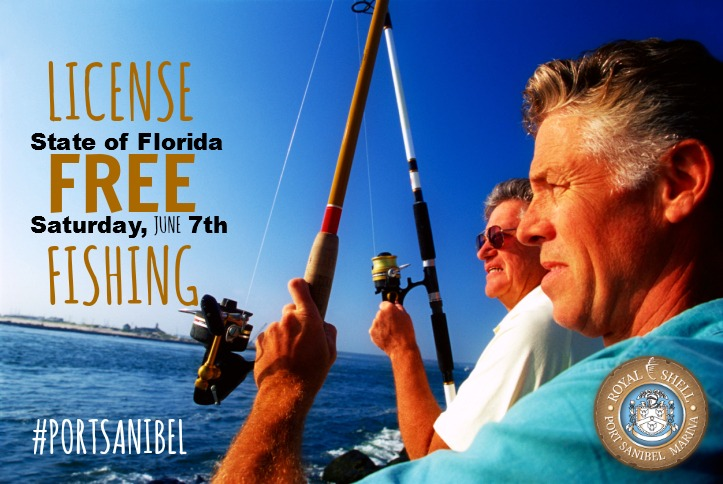 License free fishing day national fishing and boating week for Florida 3 day fishing license