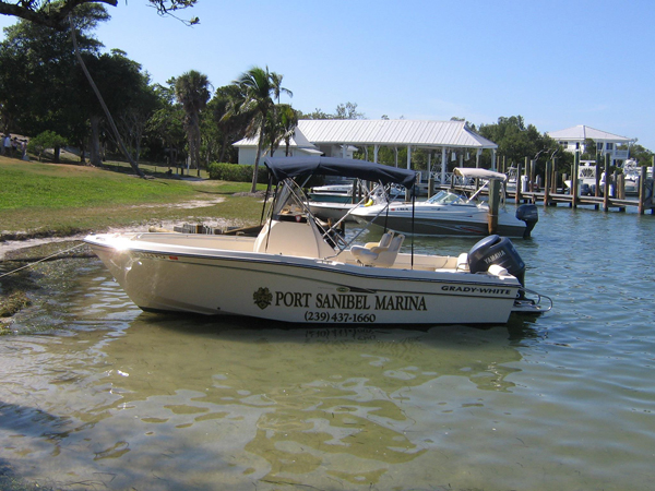 port-sanibel-marina-boat-cabbage-key