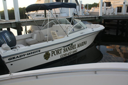 Port Sanibel Marina Grady White boat rental