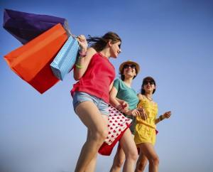 ladies shopping on Sanibel Island