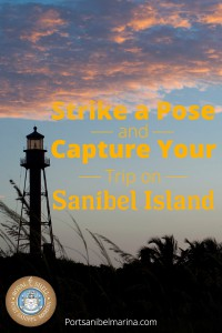 Port Sanibel Marina Pinterest pin
