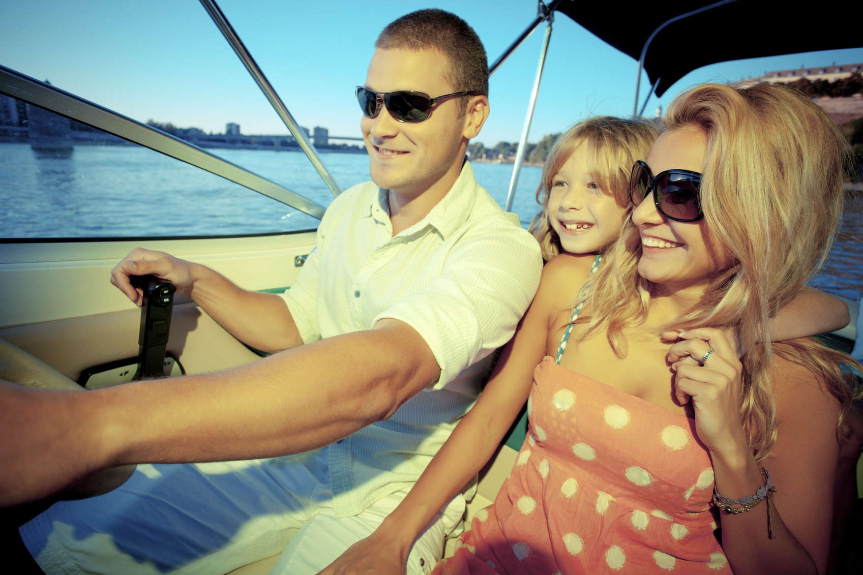 family boating outing