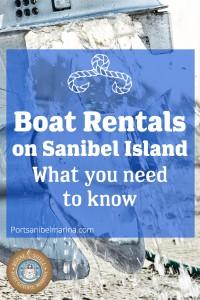 Port Sanibel marina Pinterest pin