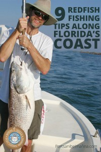 redfish fishing Pinterest pin