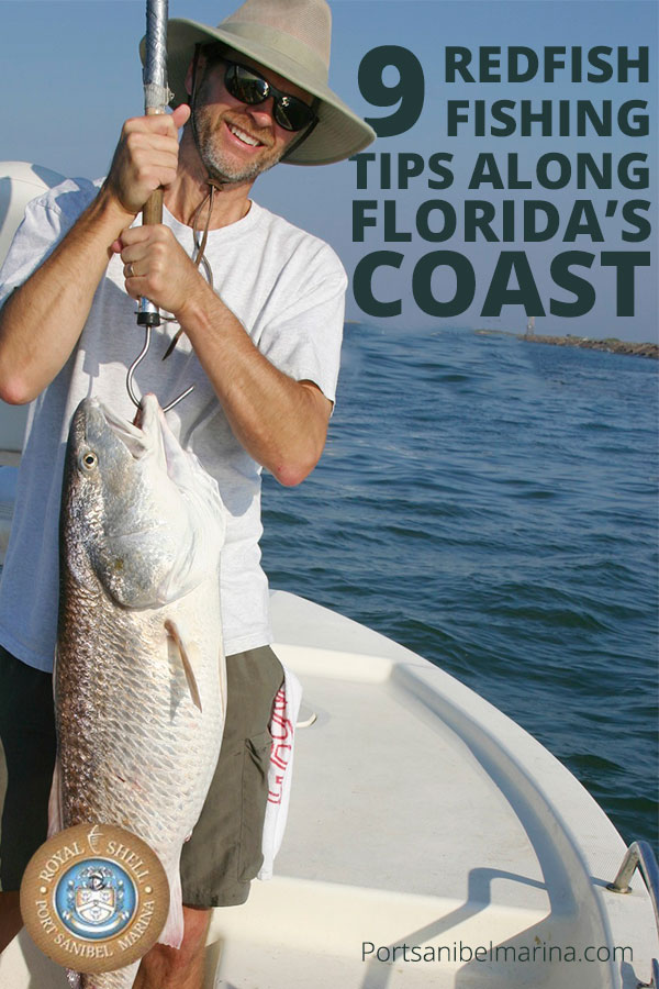 9 redfish fishing tips along florida s coast for Redfish fishing tips