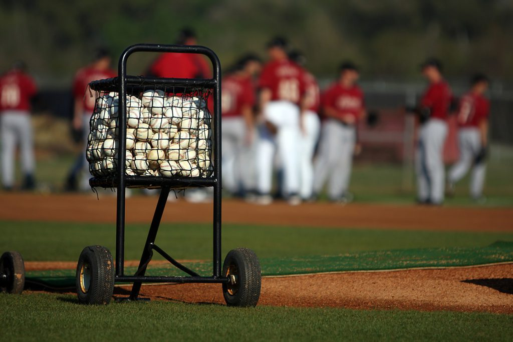 spring training baseballs