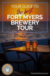 Fort Myers brewery tour pin